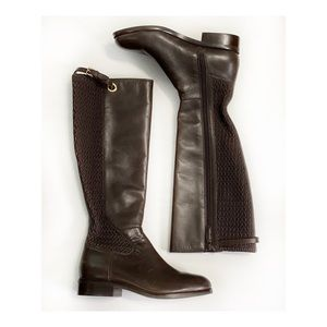 Cole Haan Chocolate Brown Knee High Boots